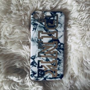 Marble/Gold IPhone 6/7/8 case by PINK